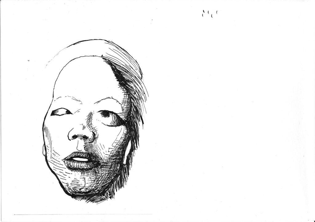 Kolobok y el zorro sketch 01