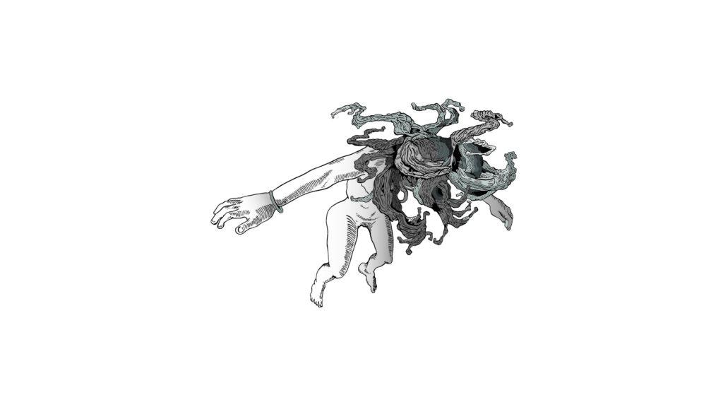 Kolobok y el zorro sketch 02